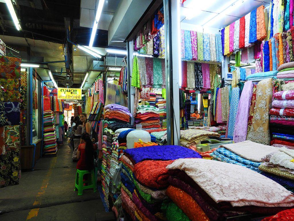 Yangon Travel - Bogyoke Aung San Market in Yangon