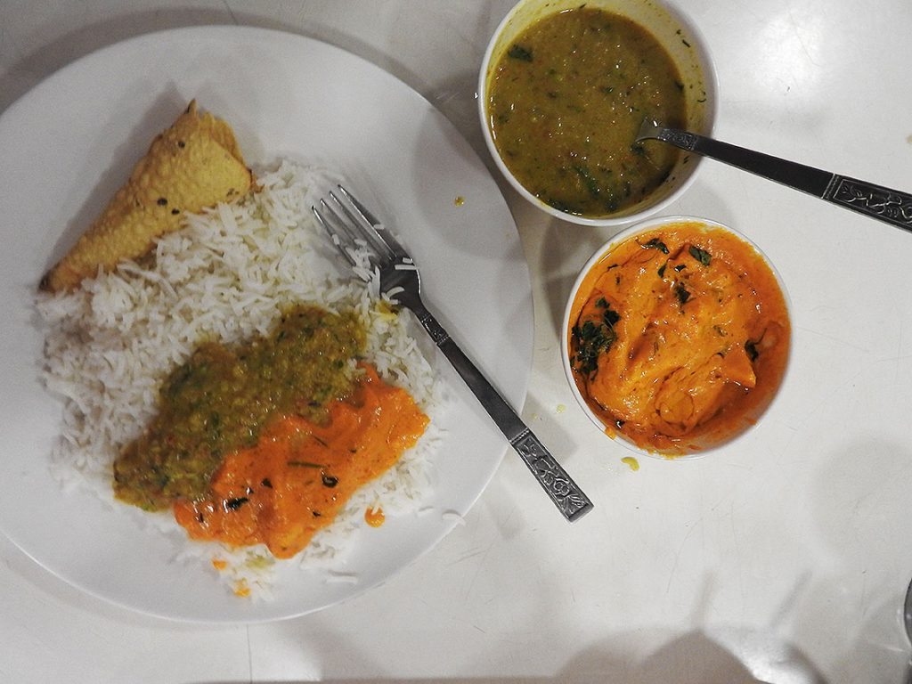 Yangon Travel - Vegetarian Curry at Nilar Biryani