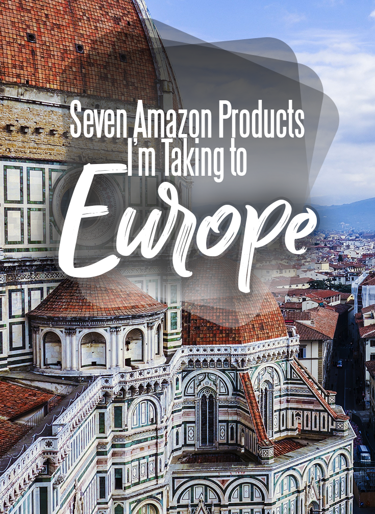 The Seven Affordable Amazon Products I'm Bringing to Europe