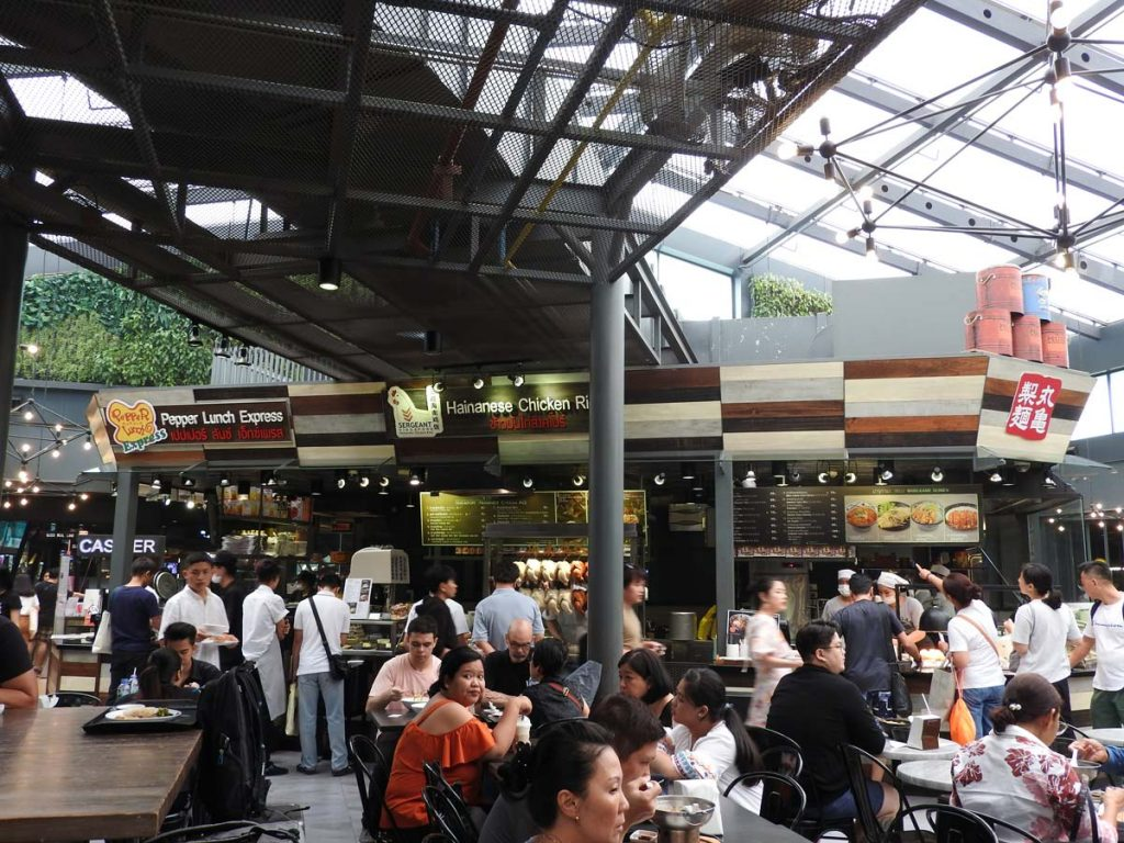 Siam Center Food Republic - Bangkok Food Court