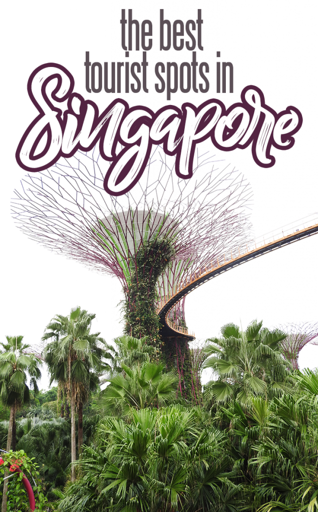 Bloggers' Favorite Singapore Tourist Spots | A complete guide to the best free, inexpensive and splurge-worthy tourist attractions in Singapore. Includes the Singapore Flyer, Sentosa Island and Gardens by the Bay.
