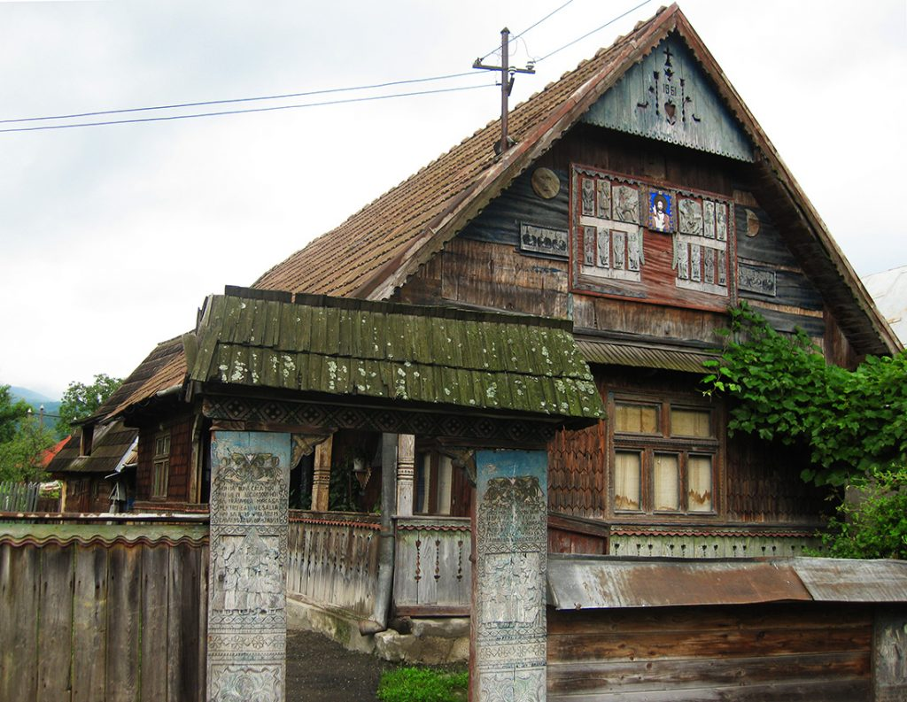 Stan Ioan Patras' House in Sapanta, Romania