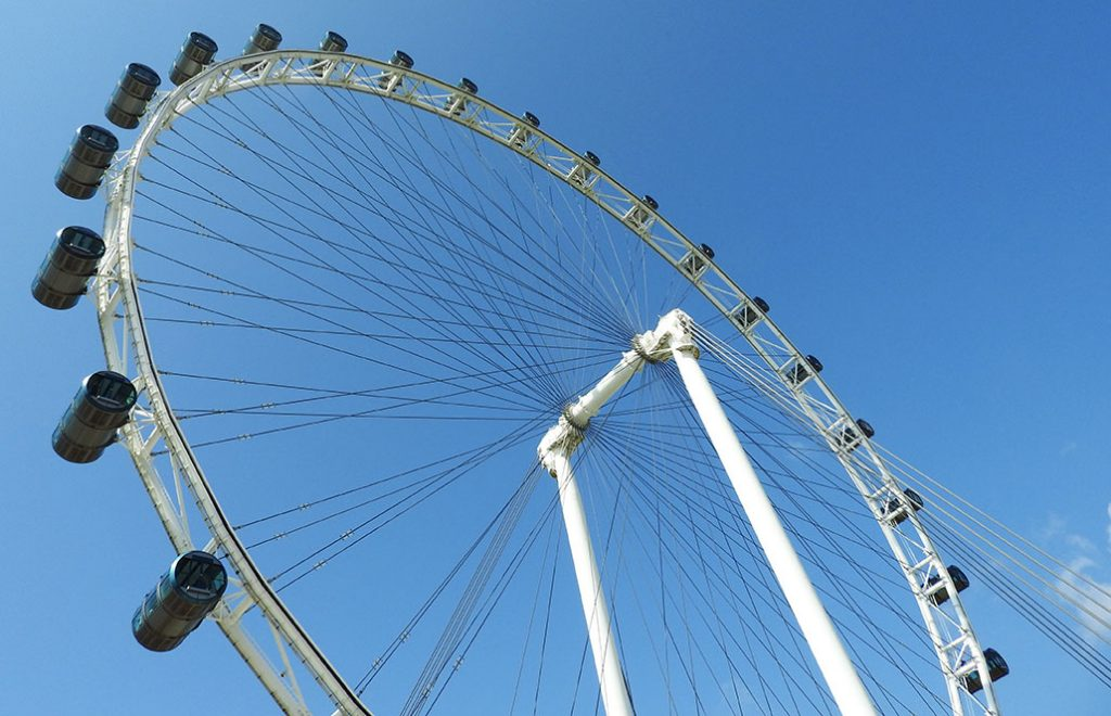 The Best Singapore Tourist Spots - Singapore Flyer Sightseeing