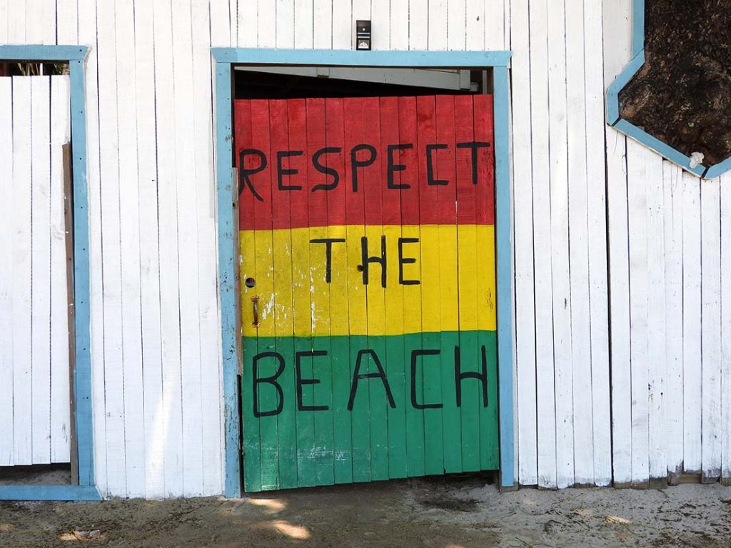 Respect the Beach - West End, Roatan