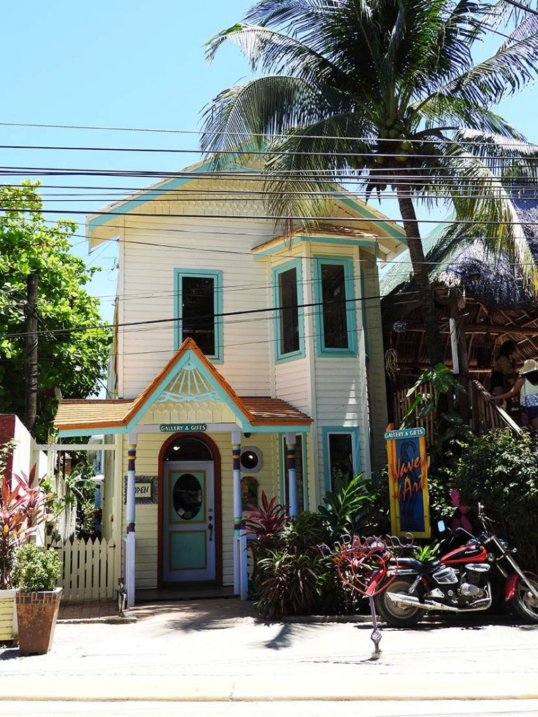 Waves of Art Gallery - Shopping in Roatan
