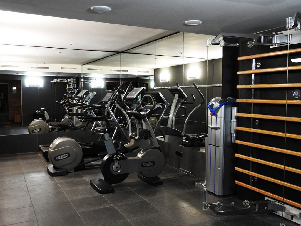 Gym and Fitness Center at Casa Camper Berlin