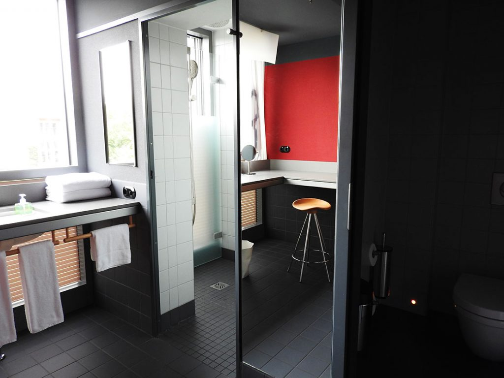 Casa Camper Berlin Shower and Toilet