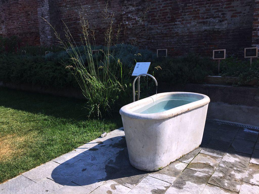 QC Terme Milano Plunge Bath