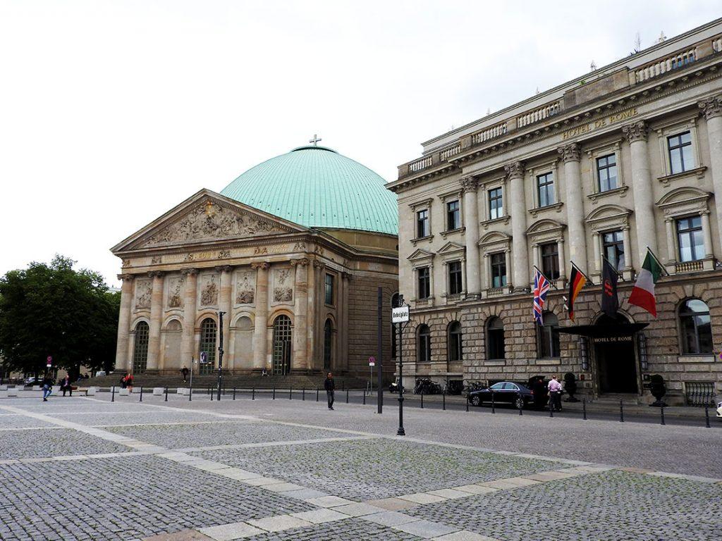 Berlin Sightseeing on Bus #100 - Bebelplatz