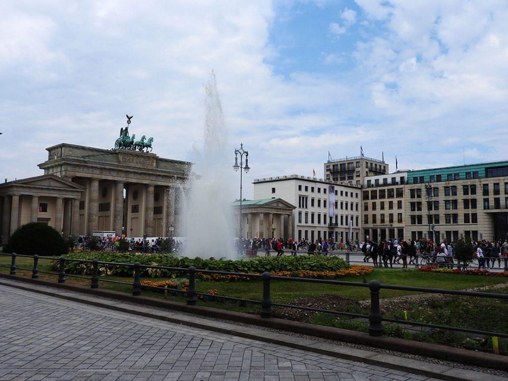 Bus #100 Stops at Berlin Sightseeing Central - Brandenburg Gate