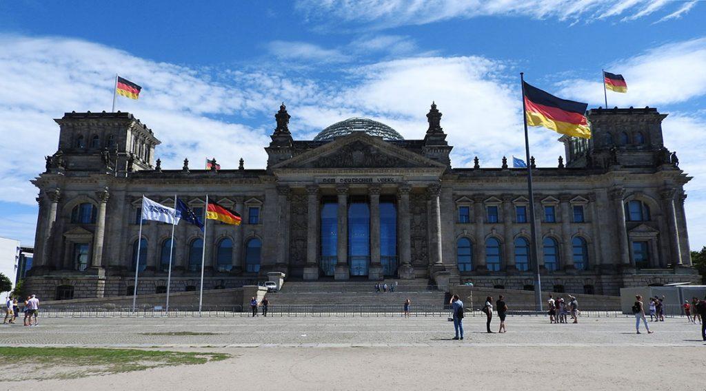 Berlin Sightseeing Bus #100 - Reichstag and Bundestag