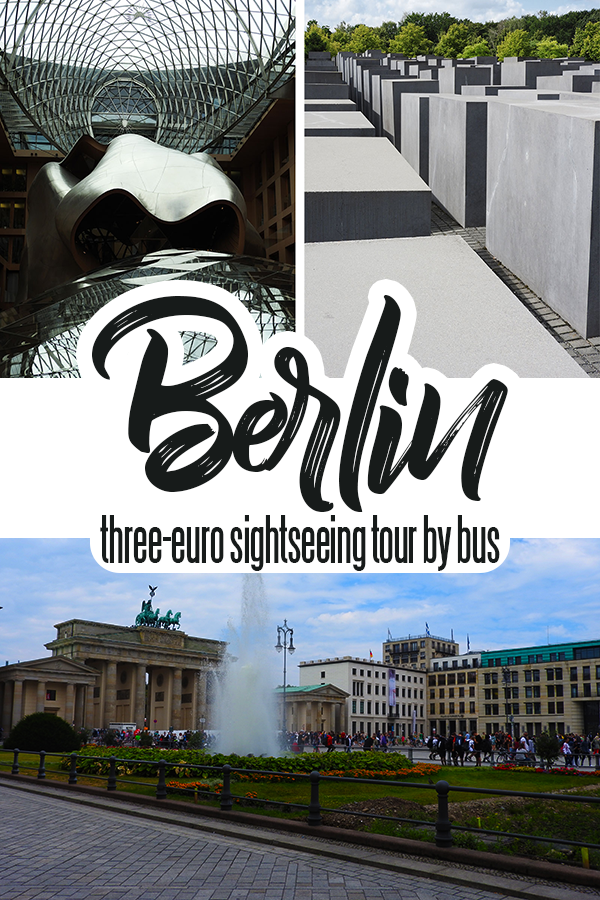 Take a Berlin Sightseeing Tour by Bus for Less than €3!