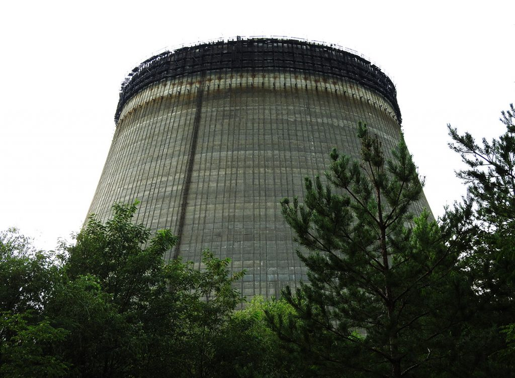 Chernobyl Cooling Tower - Overnight Chernobyl Tour