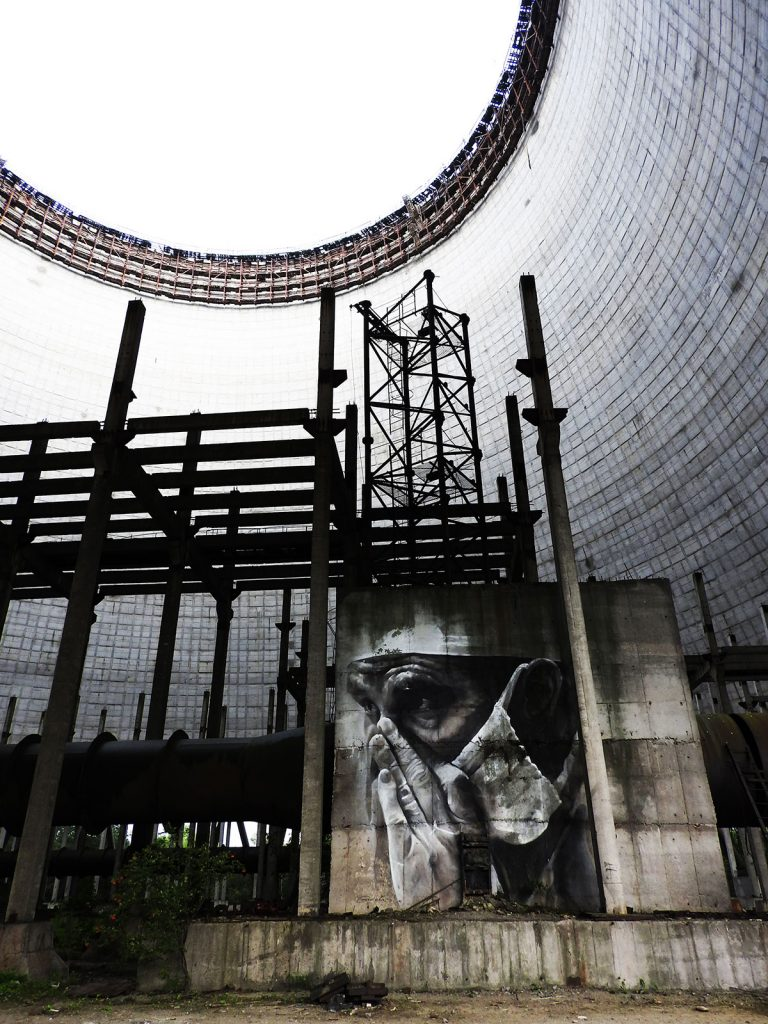 Cooling Towers on a Chernobyl Two-Day Tour