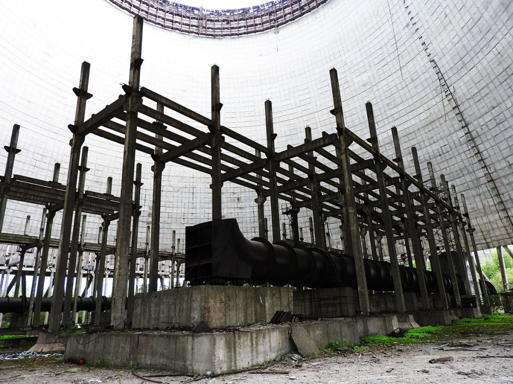 Chernobyl Tour - Exploring the Cooling Tower