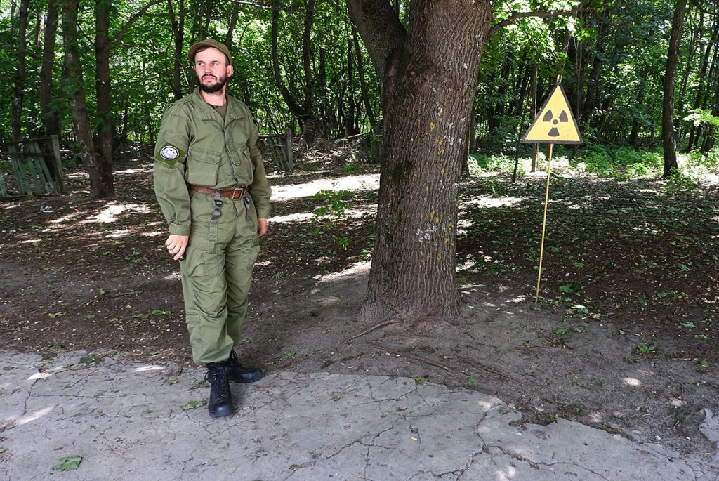 There are still nuclear hotspots throughout the Chernobyl Exclusion Zone