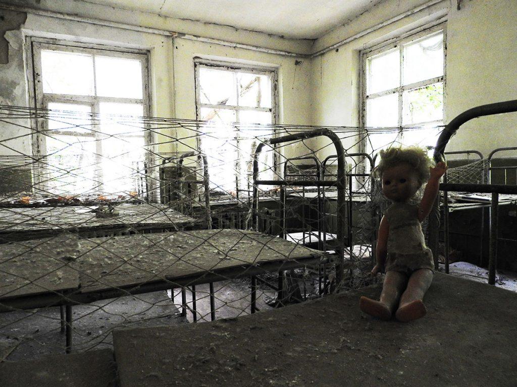 Chernobyl Tour - Kopachi Village Kindergarten