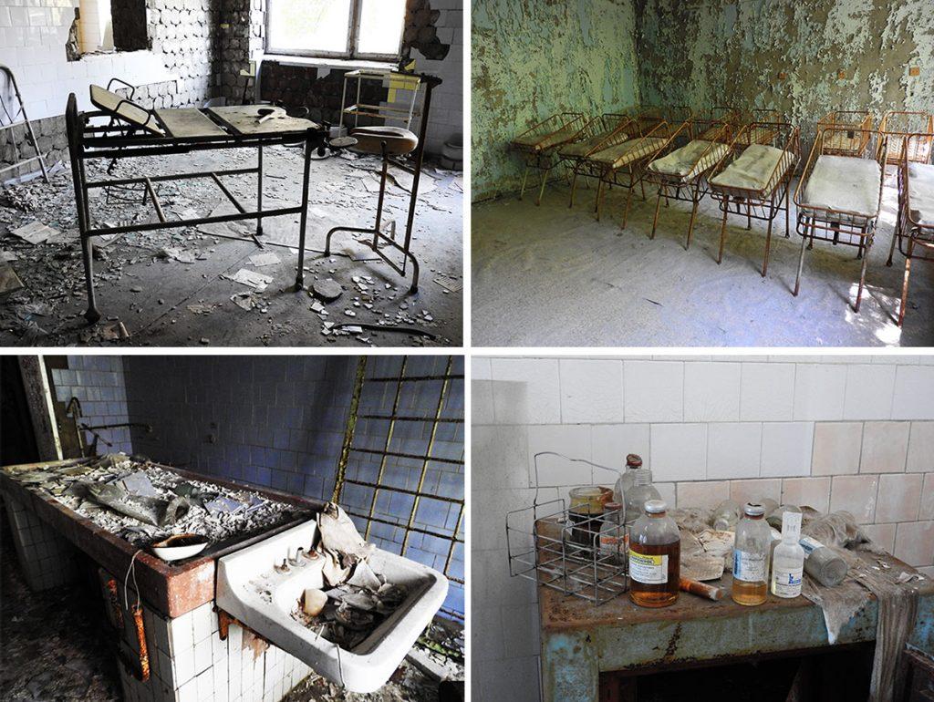 Pripyat Hospital & Morgue - Chernoby, Ukraine