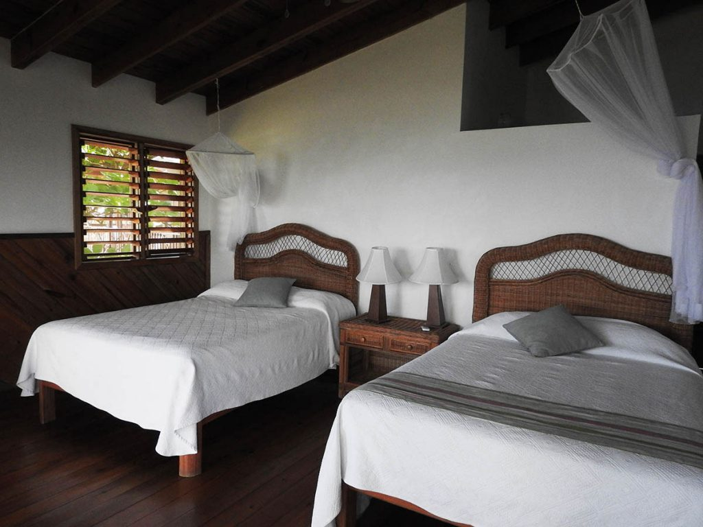 A Waterfront Guestroom at Cocolobo Roatan