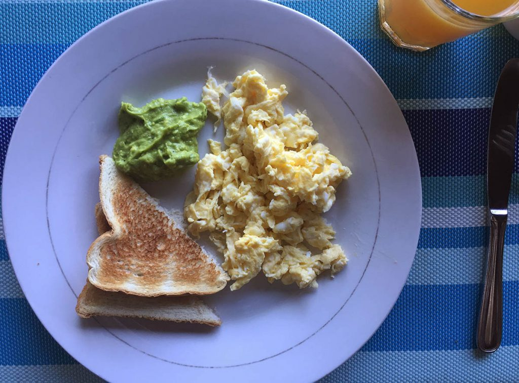 Eggs Cooked to Order at Cocolobo Roatan