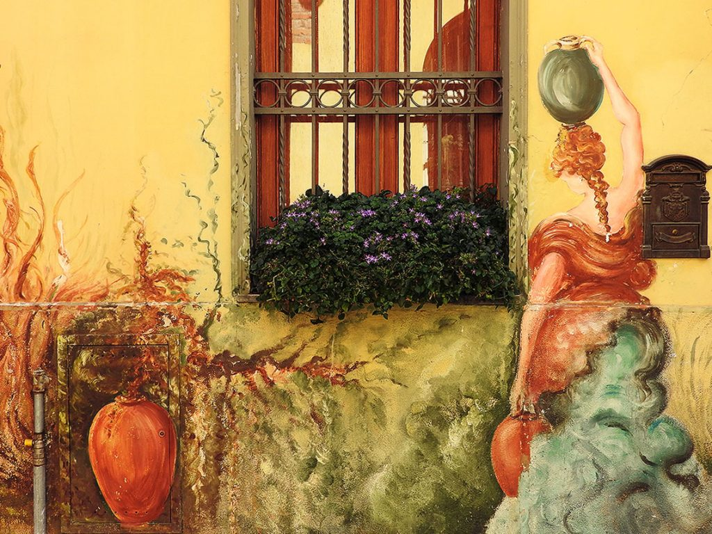 Murals of Rivoli, Italy