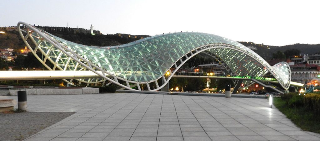 Tbilisi City Guide - Tbilisi Peace Bridge