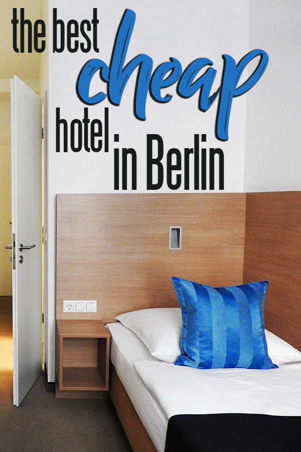 Hotel 38 in Mitte is the best cheap hotel in Berlin!