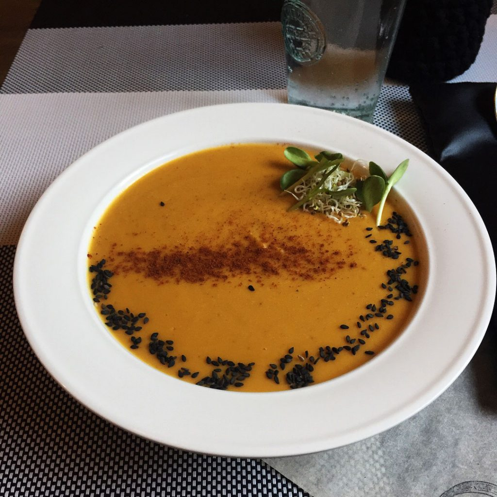 Vegan Soup at KOLO in Kiev, Ukraine