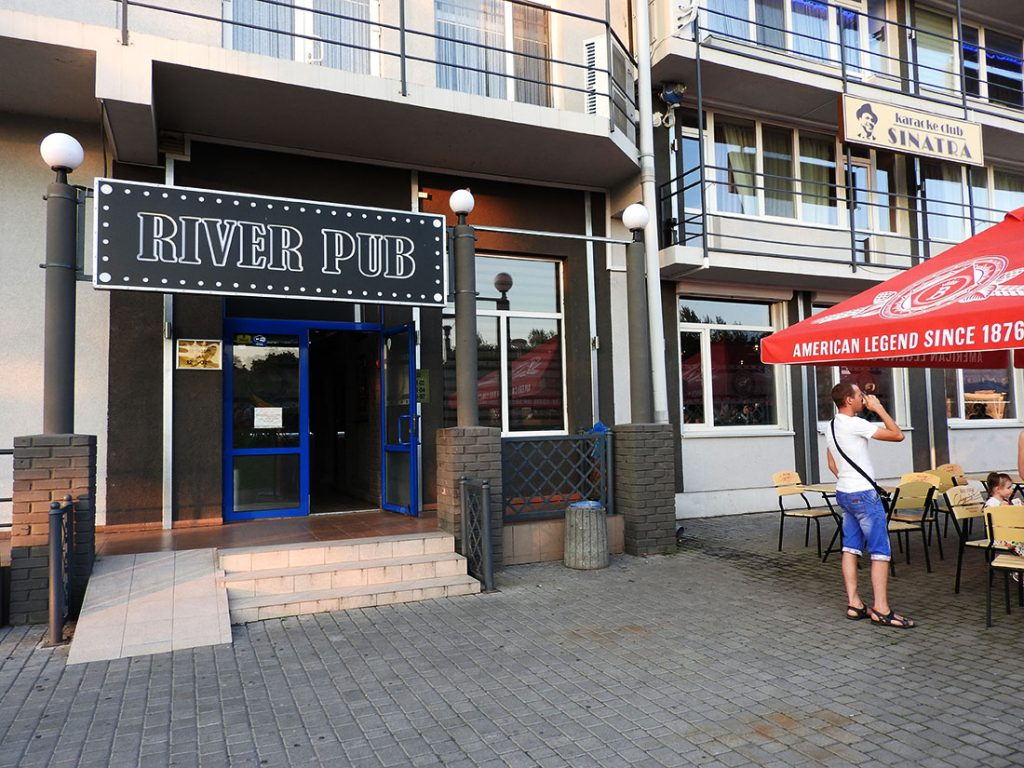 River Pub in Vinnytsia Ukraine