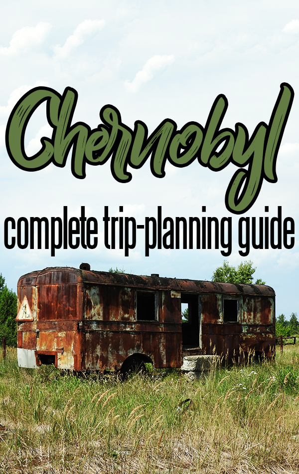 Planning and booking a tour to Chernobyl can be confusing. This guide walks you through the compete process, from choosing the best Chernobyl tour company to packing your bags for an overnight excursion into the Chernobyl Nuclear Exclusion Zone.