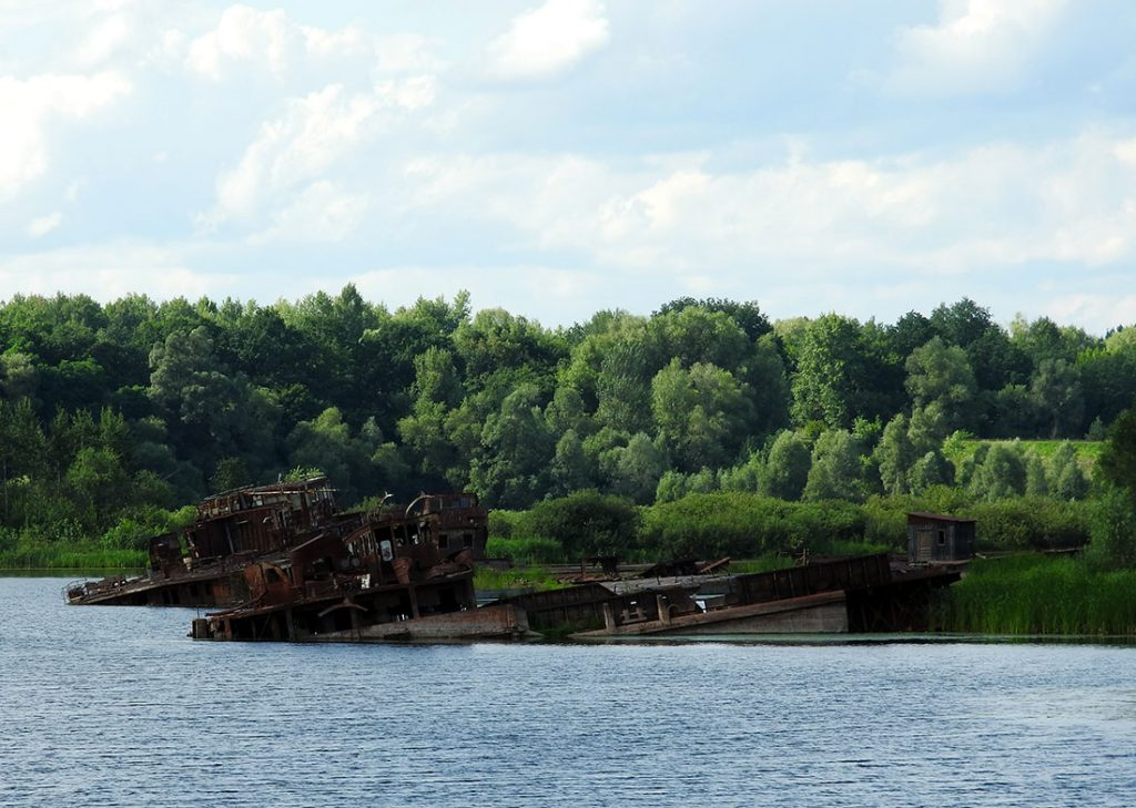 Chernobyl Tour Shipwrecks