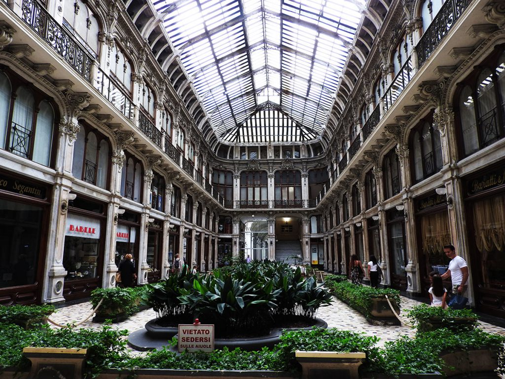 Galleria Subalpina in Turin, Italy