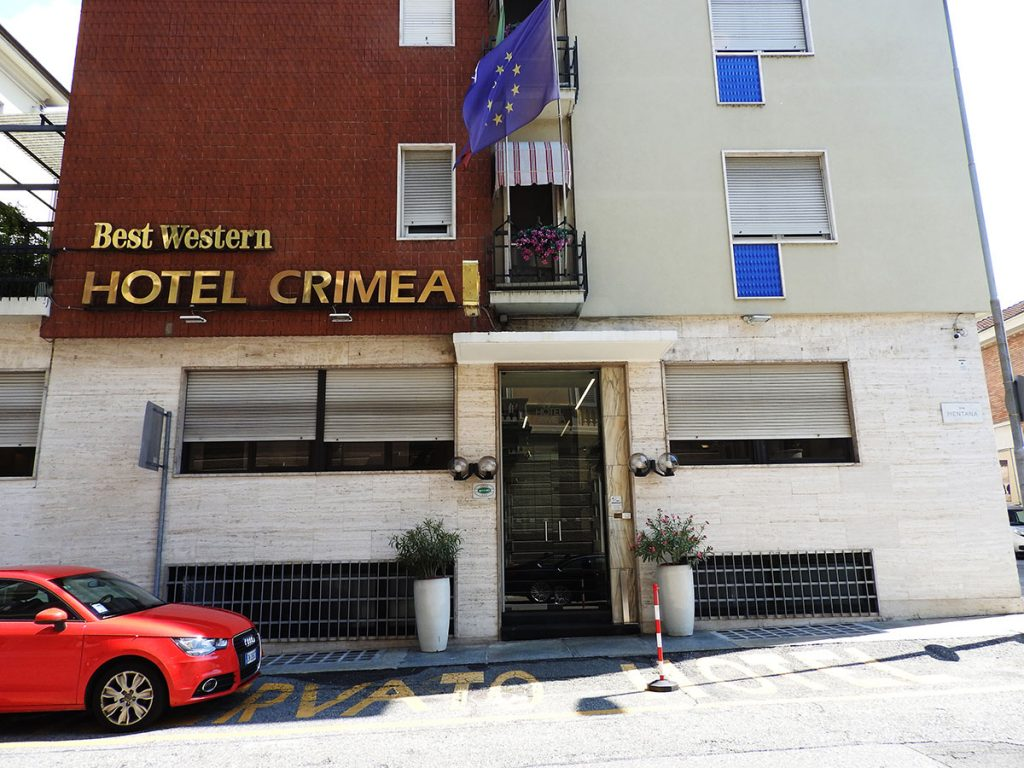 Best Western Hotel Crimea in Turin, Italy