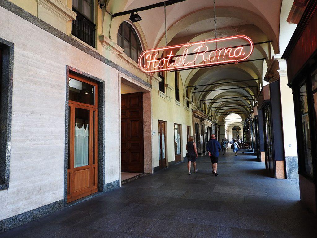 Hotel Roma in Turin, Italy