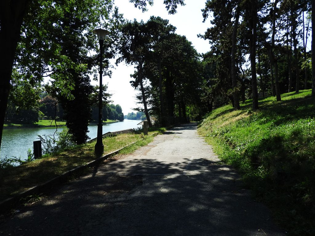 Parco Valentino in Turin, Italy
