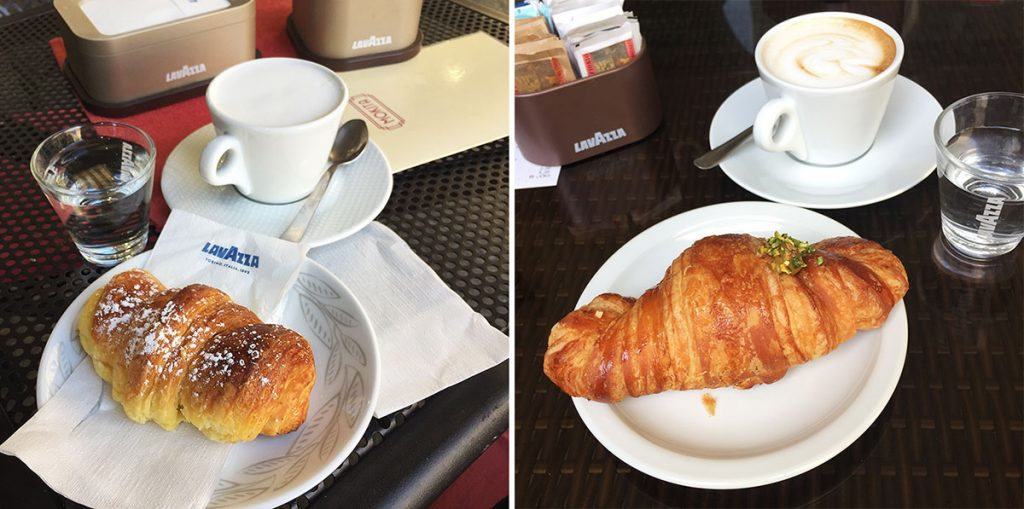 Indulge in Fresh Pastries at Cafes in Turin