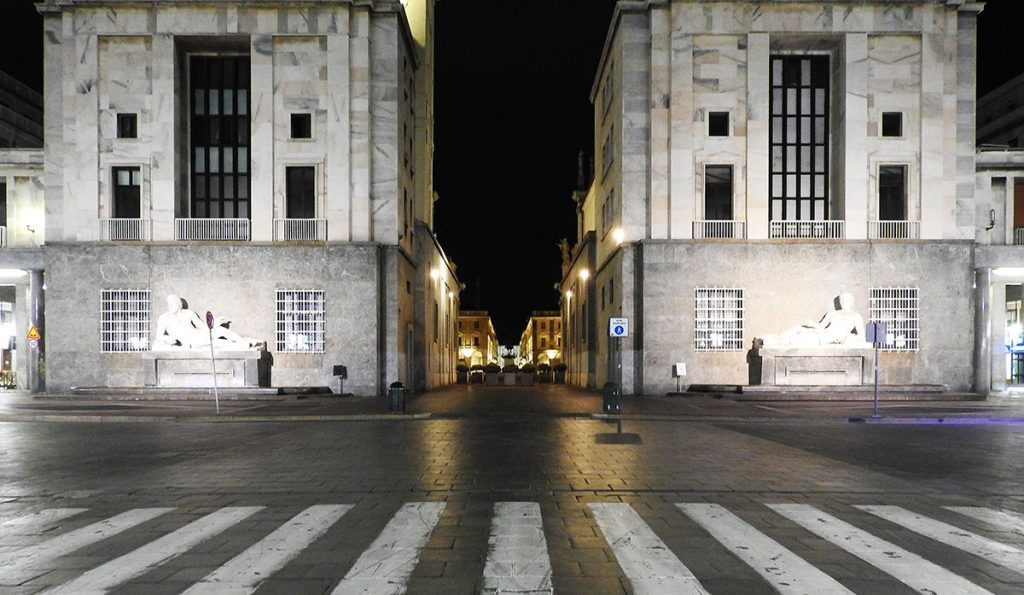 Turin, Italy - Piazza CLN at Night