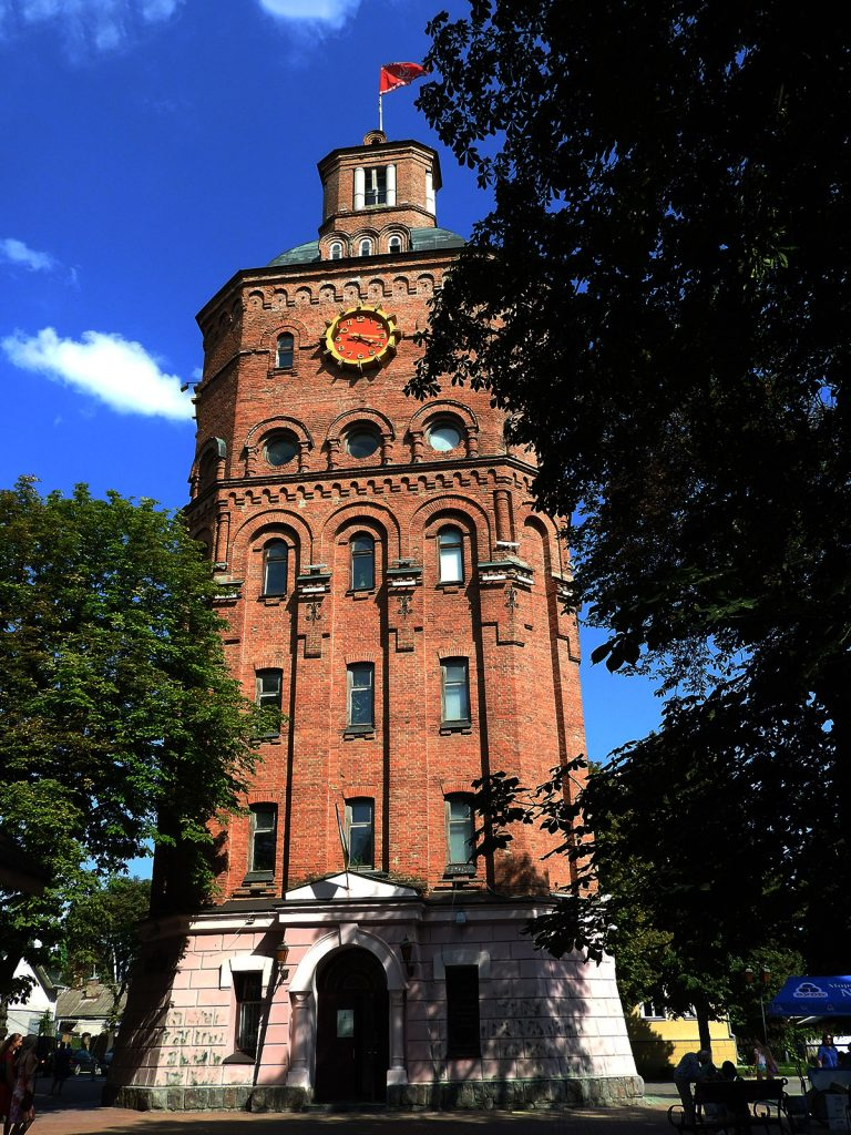 Vinnytsia Ukraine Clock Tower
