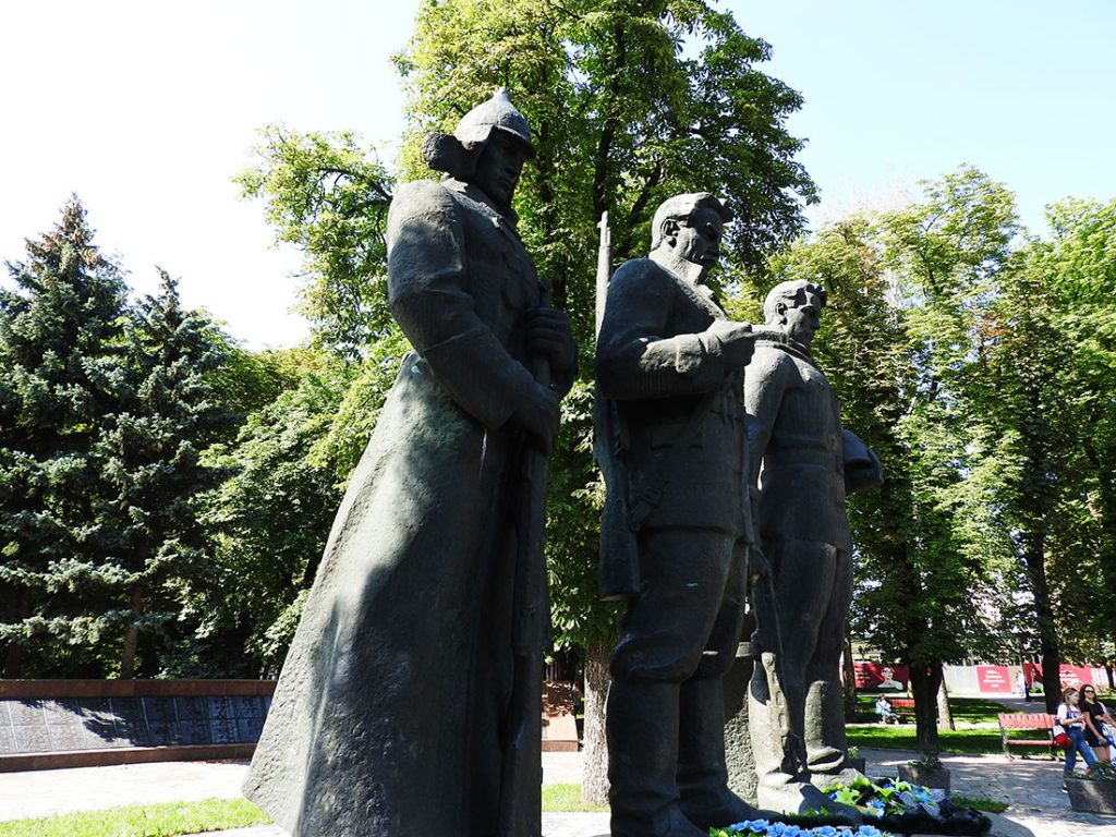 Memorial in Vinnytsia's European Square