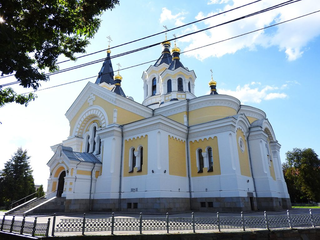 The Saviour Transfiguration Cathedral in Zhytomyr Ukraine