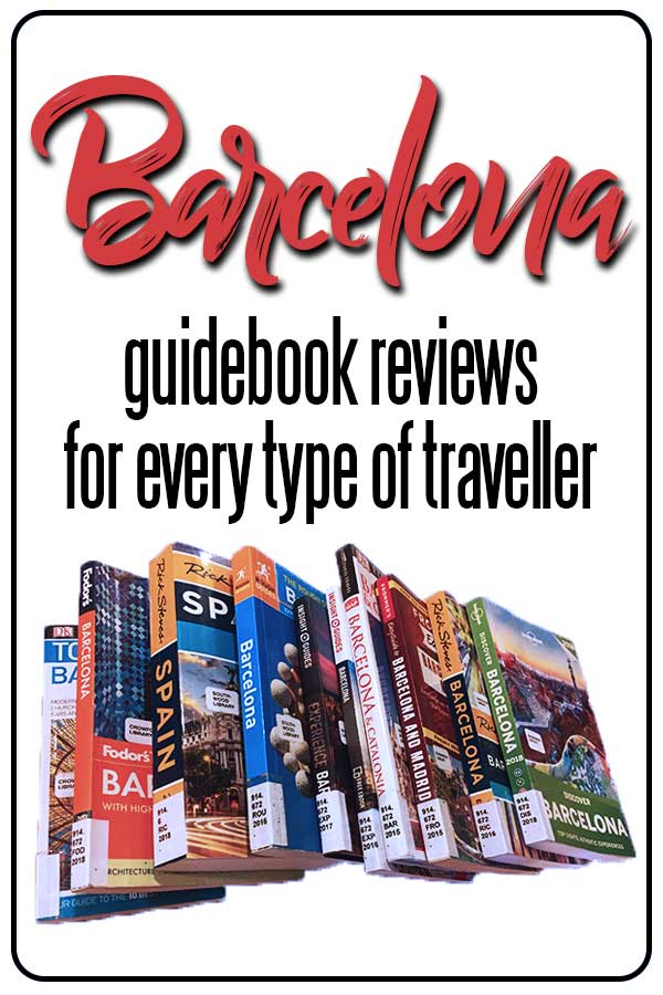 Barcelona travel guidebook reviews for every type of traveler, including the best guides to budget travel in Barcelona, luxury travel in Barcelona and Barcelona travel inspiration.