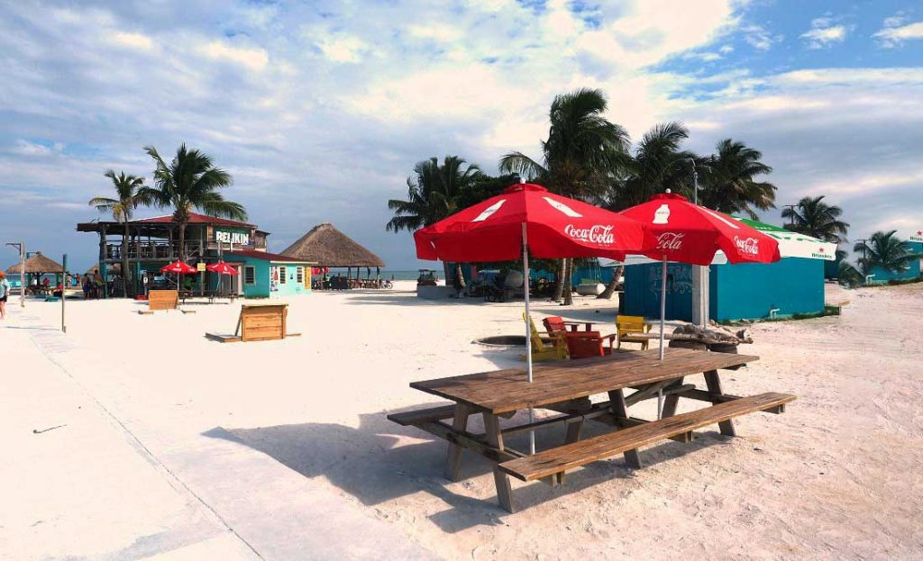 Day Drinking in Caye Caulker, Belize