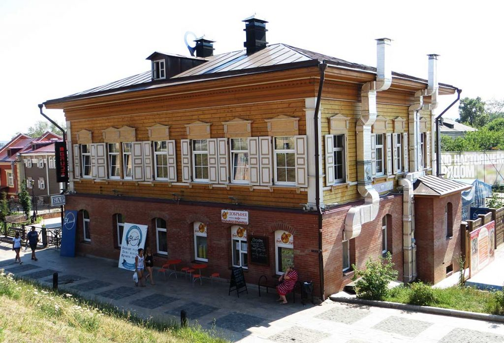 Trans-Siberian Train Stops in Russia - Irkutsk