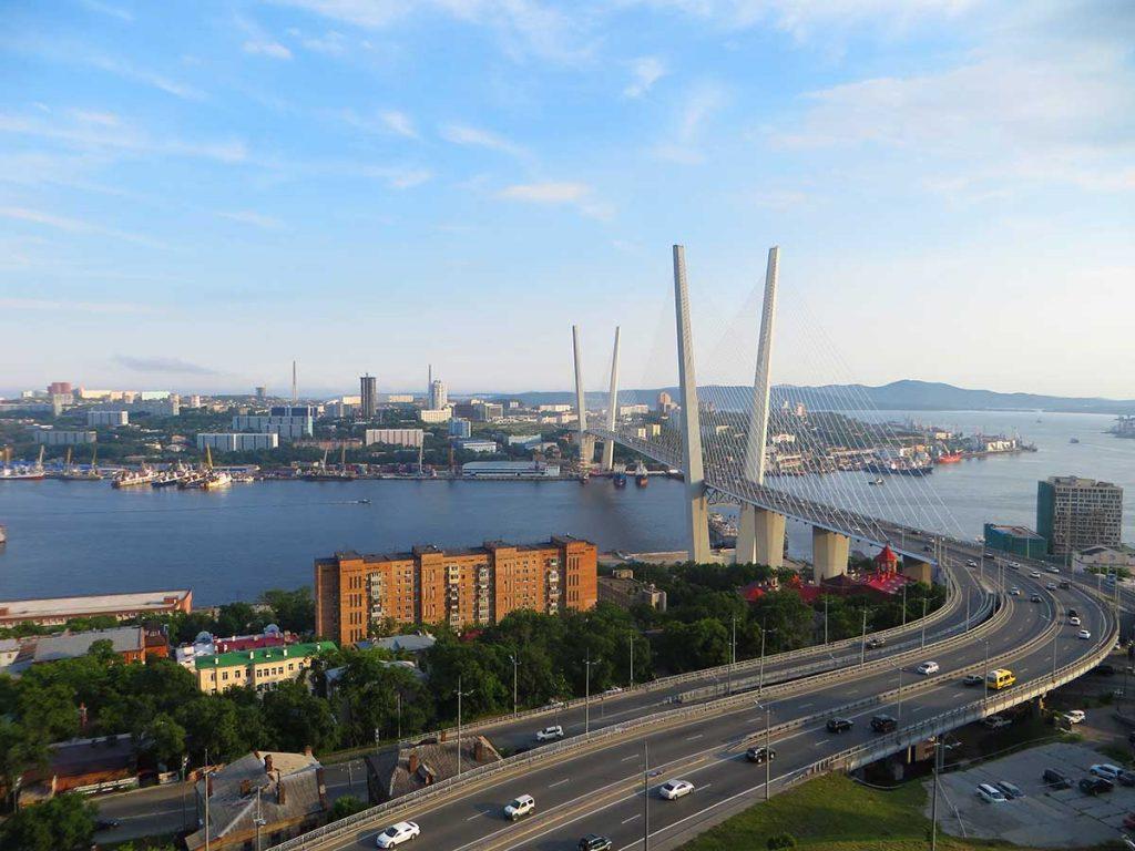 Trans-Siberian Express Stop - Vladivostok, Russia