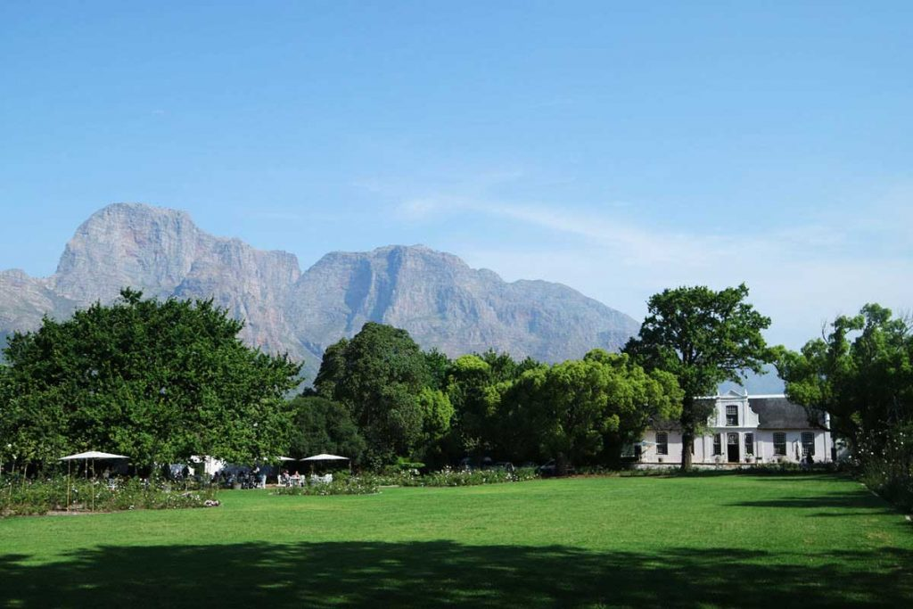 Day Drinking at Boschendal Estate, South Africa