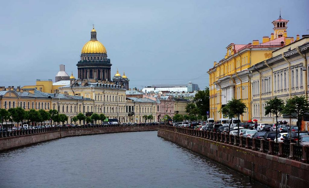 Stops Along the Trans-Siberian Express - Saint Petersburg, Russia