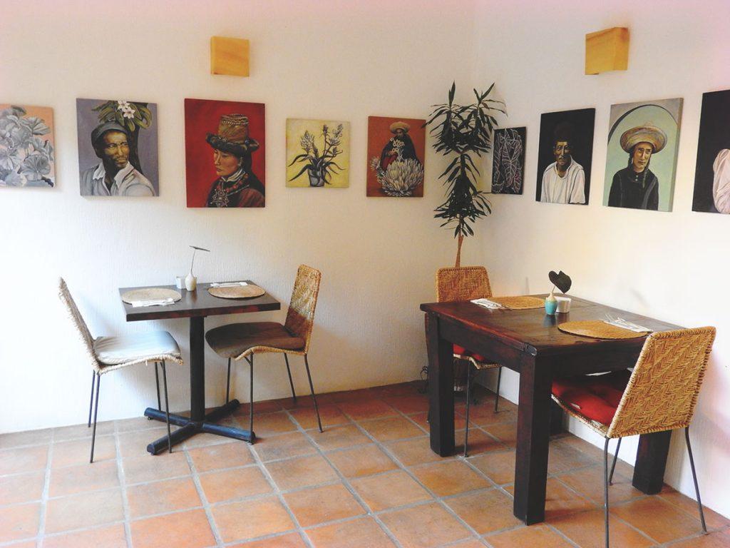 Bistro Organico at Hotel Cielo Rojo, San Pancho, Mexico