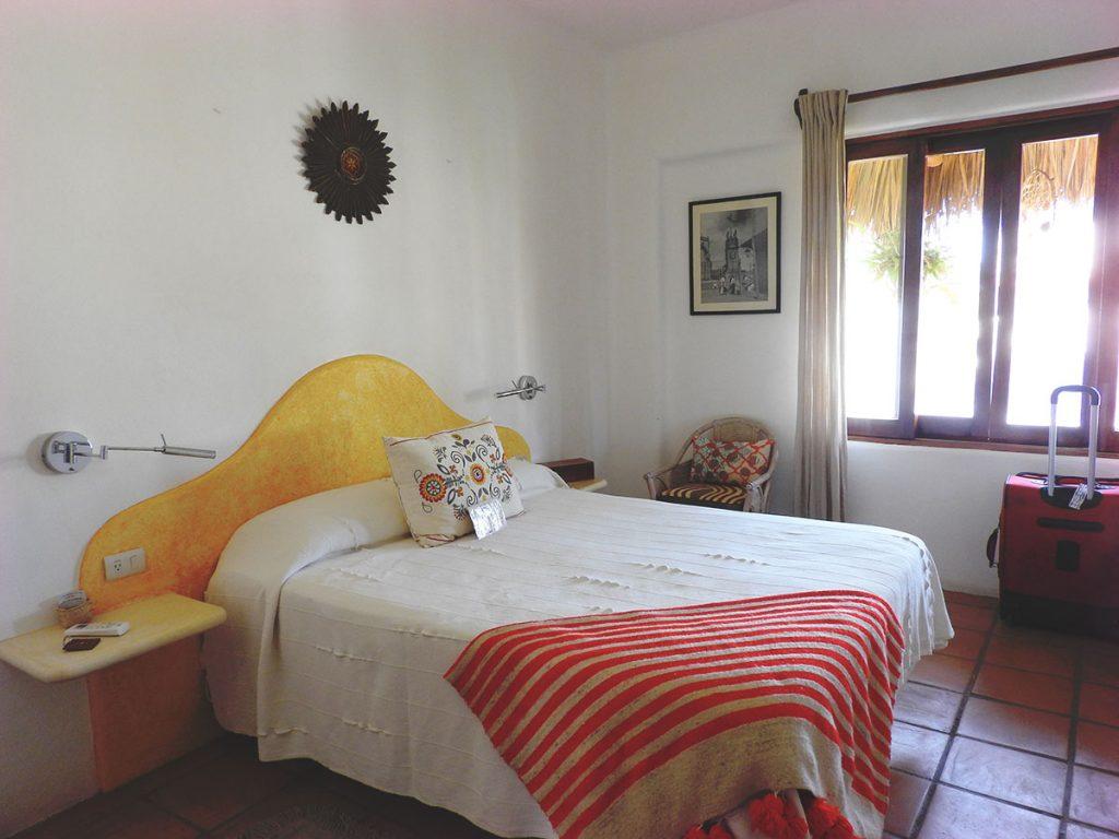 Double Room at Hotel Cielo Rojo, San Pancho, Mexico