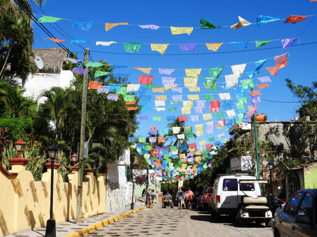 Colorful Flags of Sayulita