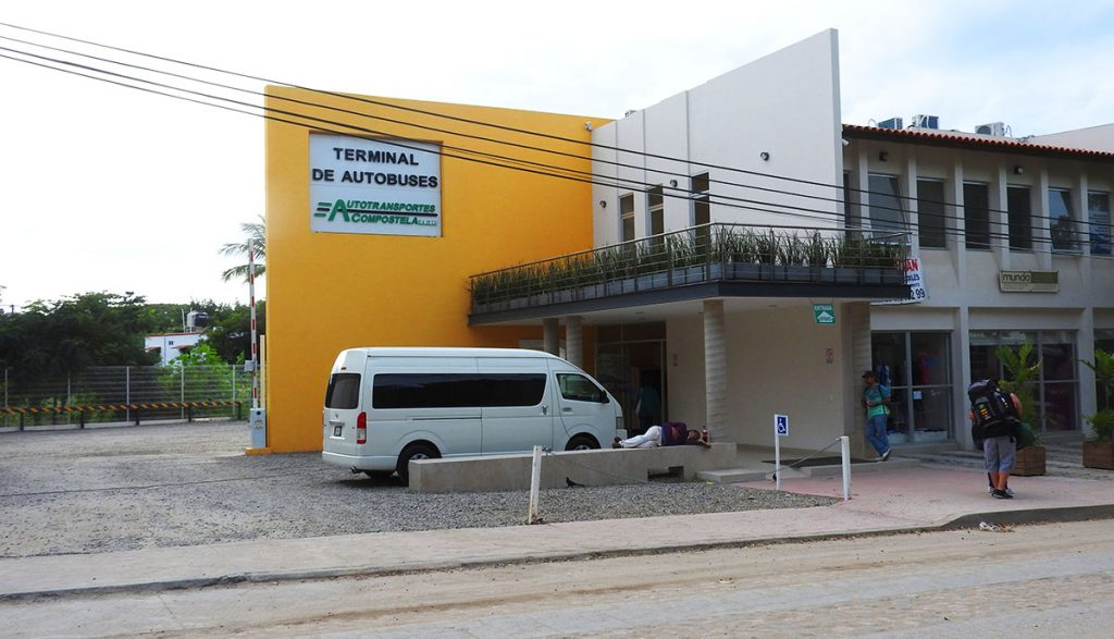 Sayulita, Mexico - Bus Station